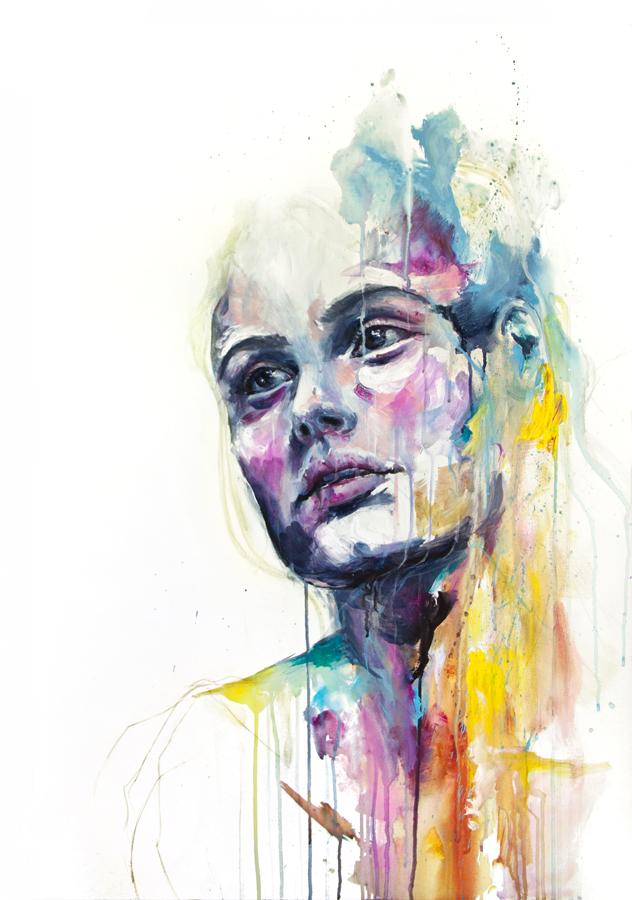Watercolors by Silvia Pelissero | Art My Face Off | 632 x 900 jpeg 359kB